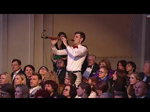 "Subtilu-Z - Holy Motors accordion scene closing 20th International Film Festival ""Kino pavasaris"""