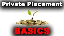 the Basics of Private Placements