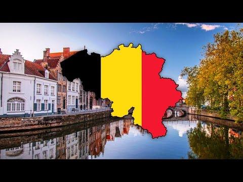 Blank Map Of Belgium (België / Belgique) - Timelapse