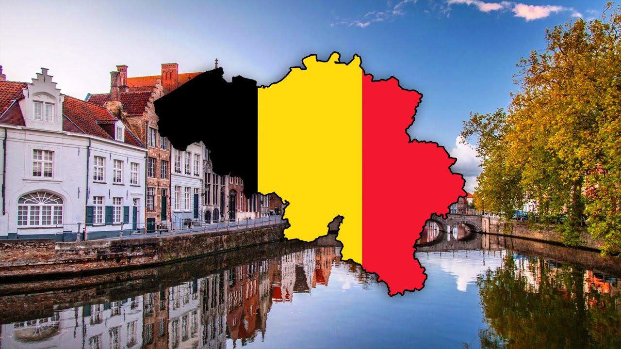 Blank Map of Belgium Belgi Belgique Timelapse YouTube