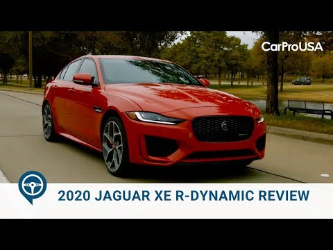 2020 Jaguar XE R-Dynamic Review