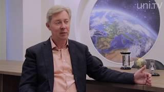 Интервью ректора. Д.Фурсаев - о дистанционном образовании и междисциплинарном обучении.