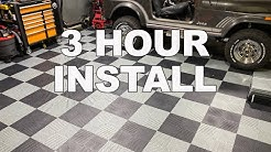 Montezuma Flooring - The Easiest Garage Flooring We Have Ever Used!