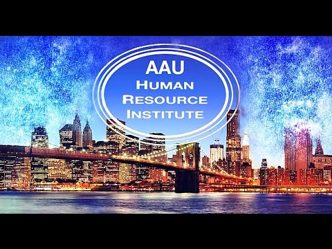 Welcome to the AAU-HR Institute!