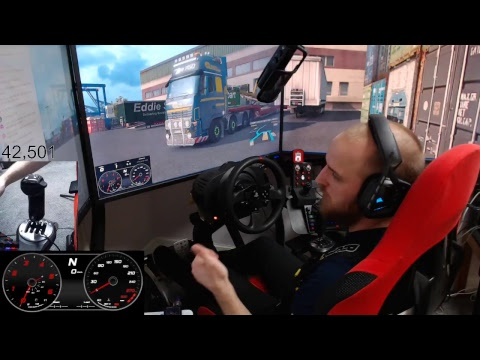 ALMAR SKRS scania shifter first test on euro truck simulator 2