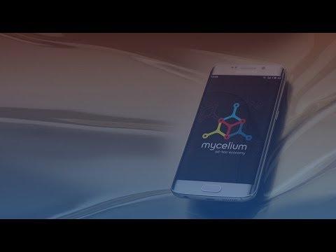 Como criar uma carteira Bitcoin usando Mycelium pra usar na Walltime