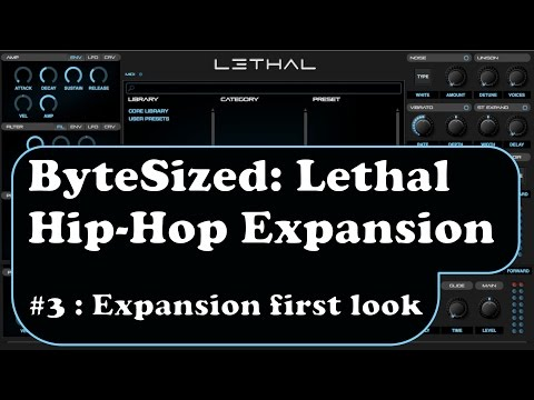 ByteSized Reviews: Lethal's First Expansion (X01 Hip-Hop) Is A Beast!