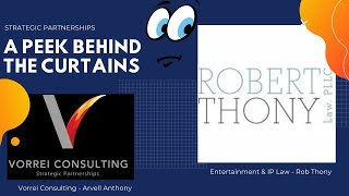A Peek Behind The Curtains - Entertainment & IP Law with Robert Thony