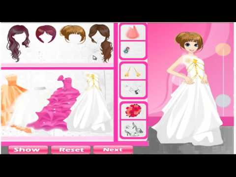 เกมส์แต่งตัวเจ้าสาวสุดสวย Beautiful Bride Dress