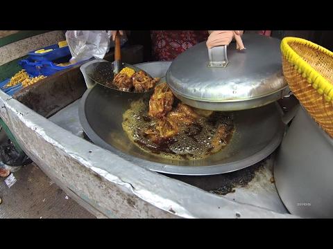 Jakarta Street Food 1202 Part.2 Chicken Rib Giblet Skin Kerongkongan Ayam Rempela 5088