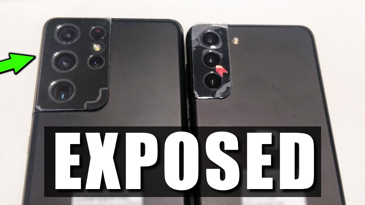 Samsung Galaxy S21 Ultra Exposed - OFFICIAL REAL LIFE PHOTOS (Exclusive)