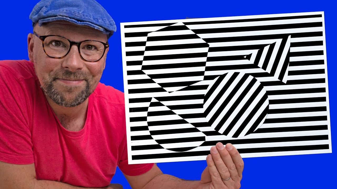 Art Lesson Idea Op Art Make Amazing Optical Illusions With Kids