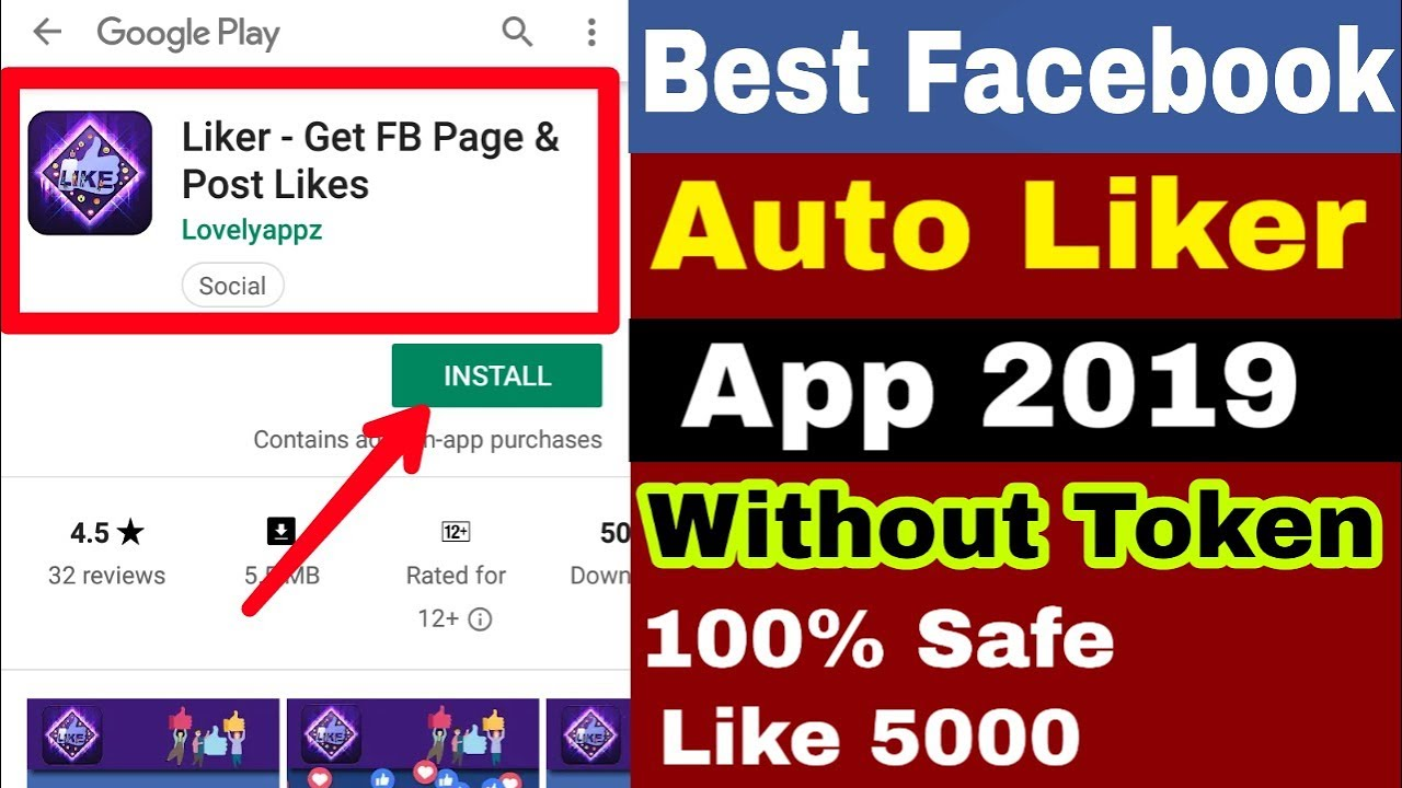Facebook Auto Liker App 2019 | Facebook Par Like Kaise Badhaye | Fb liker  App |