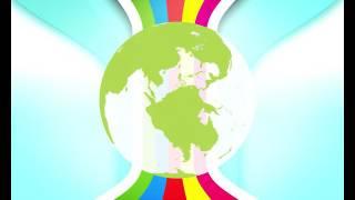Интро без текста для канала скачать бесплатно HD  Влог - Дизайн 2190 мир планета Земля