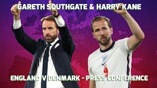 England v Denmark - Gareth Southgate & Harry Kane - Press Conference