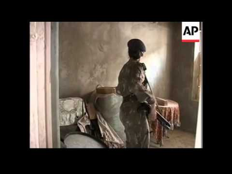 Troops search homes after attempt on life of chief minister