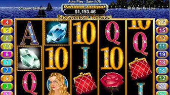 USA Online Casinos | Play Diamond Dozen Slot with $100 No Deposit Online Casino Bonus