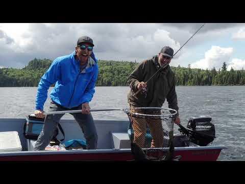 Pêche au doré à la pourvoirie Wapus