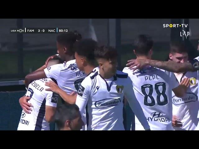 Goal | Golo F. Valenzuela: Famalicão (3)-0 CD Nacional (Liga 20/21 #33)