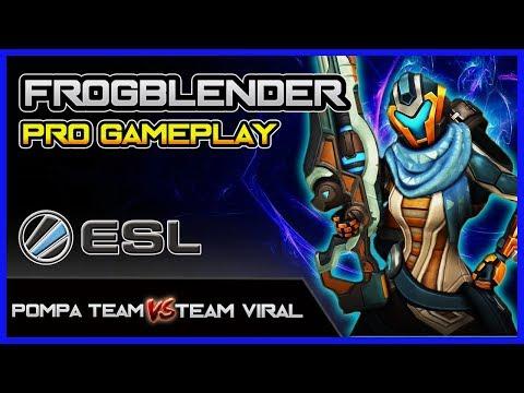 Frogblender Kinessa Gameplay POV | Pompa Team vs Team Viral | ESL Go4Paladins Europe #36 Semifinal