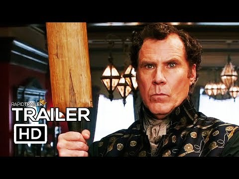 HOLMES AND WATSON   2018 Will Ferrell, John C. Reilly Movie HD