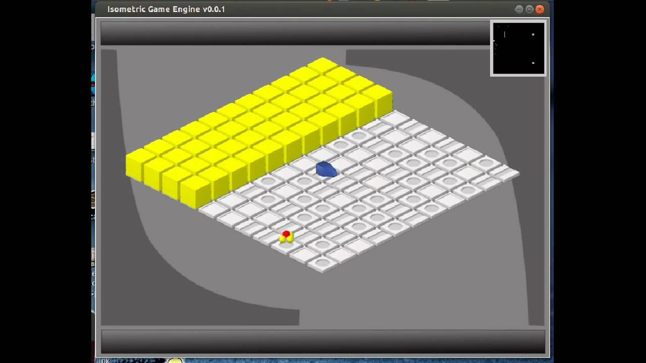 My SFML Isometric Game Engine version 0 0 1