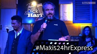 CEO OF MAXIS INTERRUPTS A BAND PERFORMANCE TO DELIVER iPHONE 7 #Maxis24hrExpress