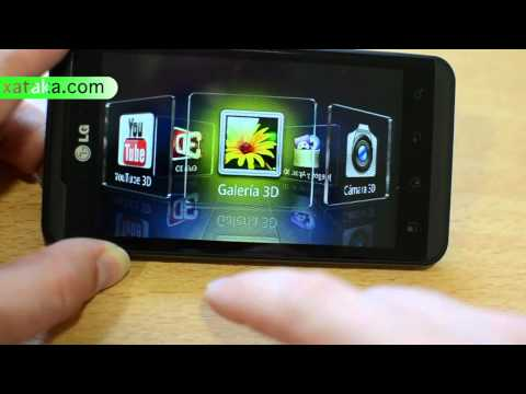 LG Optimus 3D en vídeo