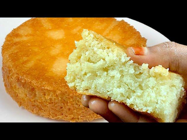 முட்டை இல்லாமல் வீட்டில் இருக்கும் பொருளில் புதிய முறையில் பஞ்சு போல சாப்ட் கேக்😋|Eggless SpongeCake