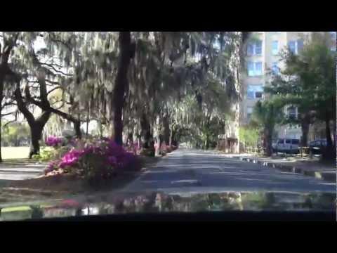 A Drive around Forsyth Park in Savannah, GA - SavannahDrives