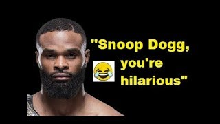 Tyron Woodley on Dana White, Snoop Dogg video,  Darren Till fight