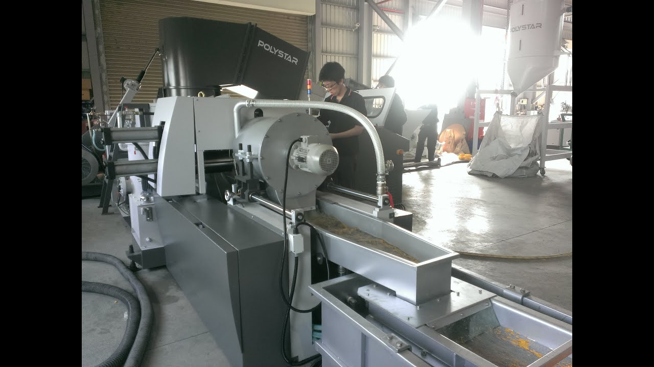 Plastic Recycling Machines For Sale Youtube