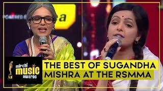 The Best Of Sugandha Mishra at the RSMMA | Sugandha Mishra | Aditya Narayan | Radio Mirchi