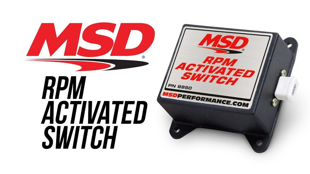 MSD RPM Activated Switch  YouTube