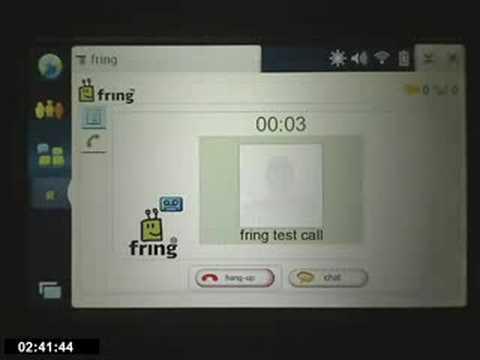FREE Mobile Calls Using Nokia N800 / N810 & FRING