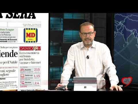 I giornali in edicola - la rassegna stampa 16/11/2020