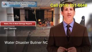 Water Disaster Butner NC (919) 251-6644