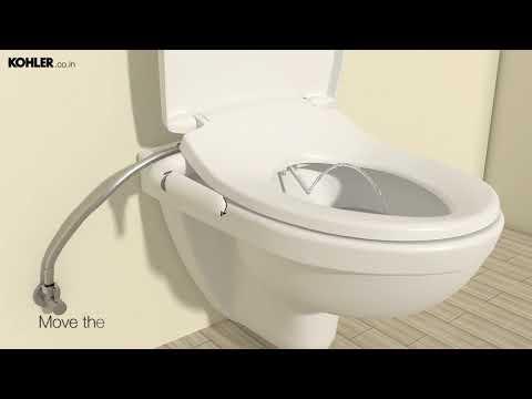 How To Install Kohler S Pureclean Bidet Seat Youtube