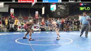 Junior 152 - Sir Romeo Howard (Illinois) vs. Jd Culp (Missouri)