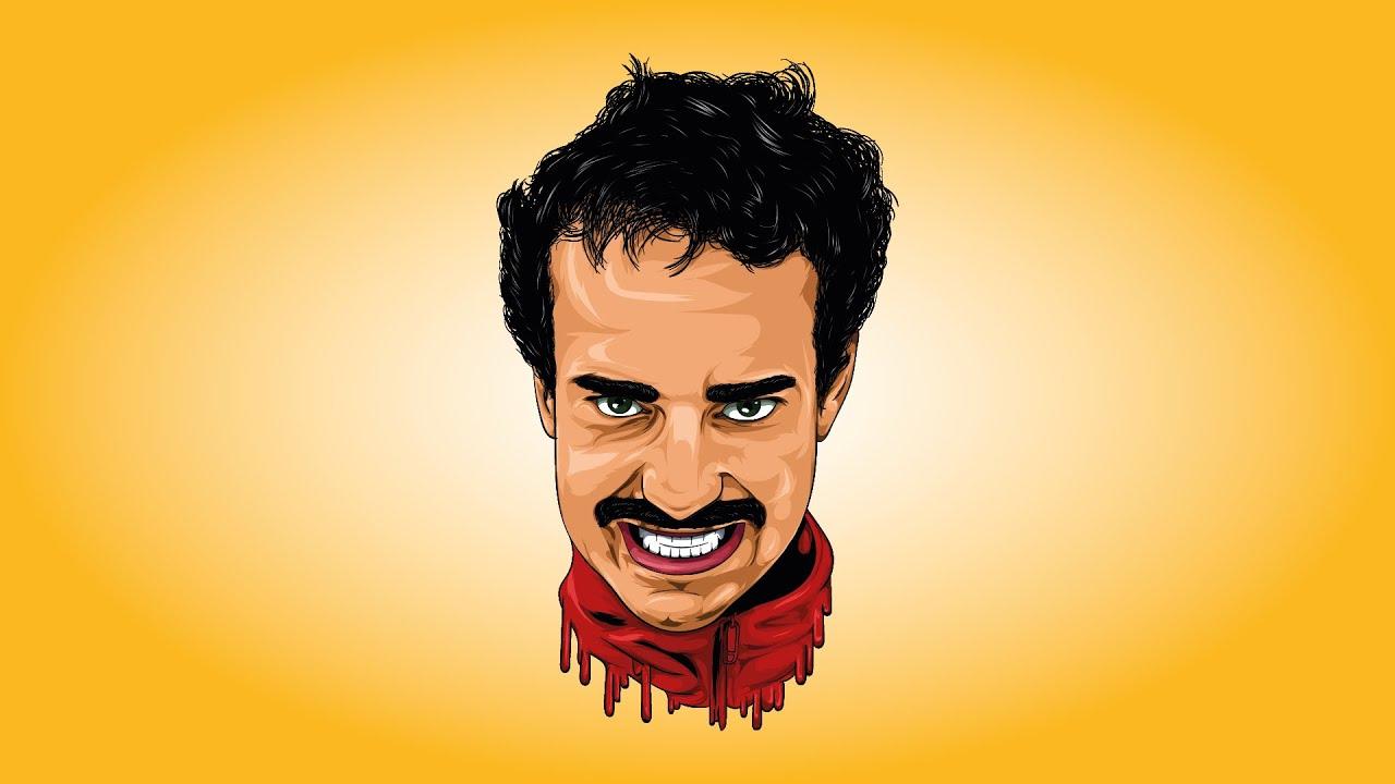векторный портрет афоня Tv Cartoon Speedart For Afonya Tv Adobe Illustrator 2020 Youtube