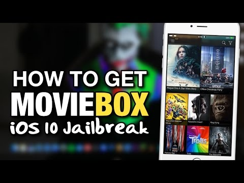 How To Get MovieBox JAILBREAK METHOD On iOS 10 For iPhone, iPod & iPad