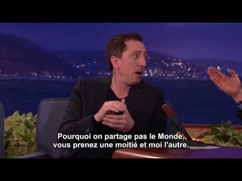 Gad Elmaleh Is The French Coco - CONAN - VOSTFR