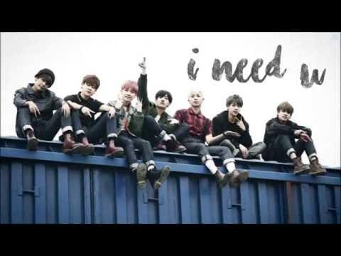 BTS (방탄소년단) - I Need U [Color Coded Lyrics Han Rom Eng]