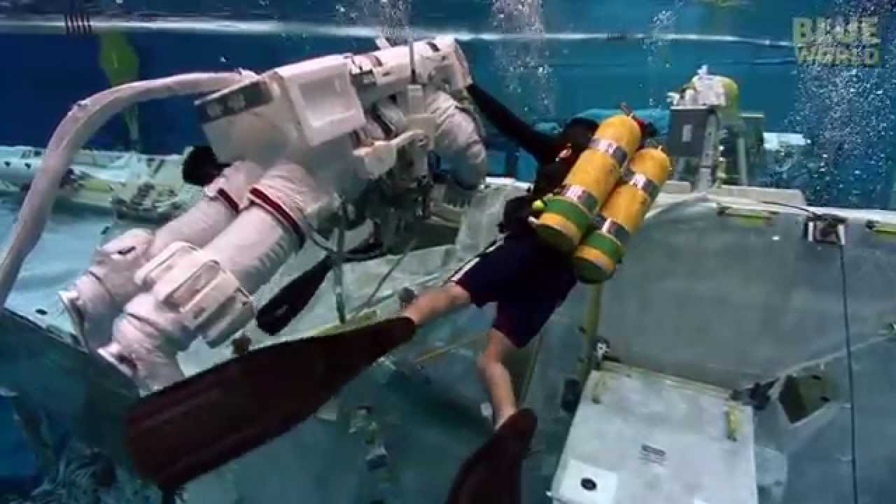 maxresdefault astronauts training underwater youtube  at bayanpartner.co