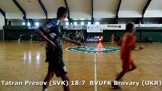 Handball. U17 boys. Sarius cup 2017. Tatran Presov (SVK) - BVUFK Brovary (UKR) - 24:12 (2nd half)