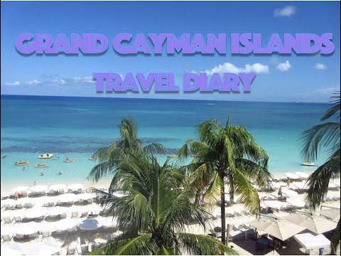 TRAVEL DIARY - Grand Cayman Islands 2016 || sketchingdoodles art