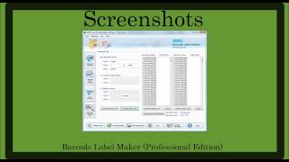 Barcode label software free download ...