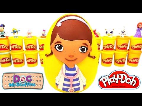 Doktor Dottie Sürpriz Yumurta Oyun Hamuru - Doc McStuffins LPS MLP Hello Kitty Cicibiciler