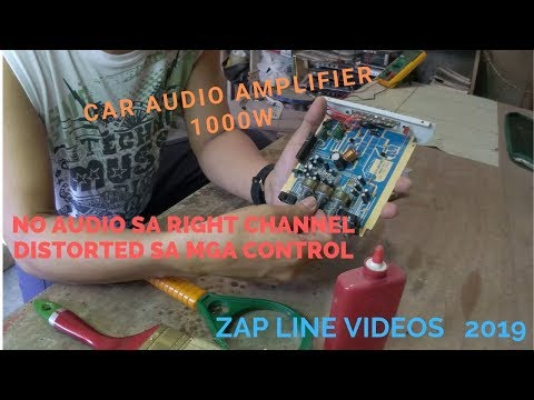 Repair Car Audio Amplifier 1000w
