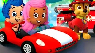 NICK JR Party Racers Paw Patrol - Dora and Friends - Cartoon Movie Games for Kids HD